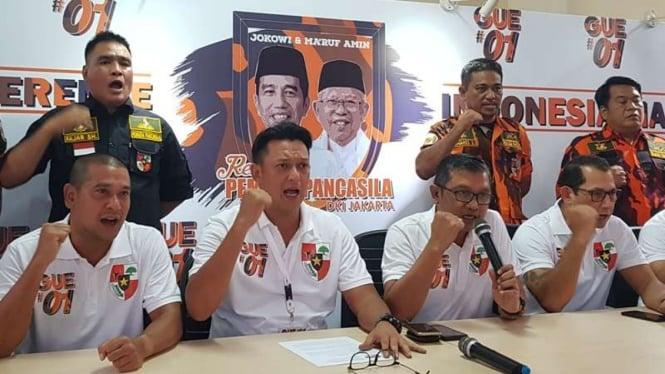 Organisasi Pemuda Pancasila dukung Jokowi-Ma'ruf