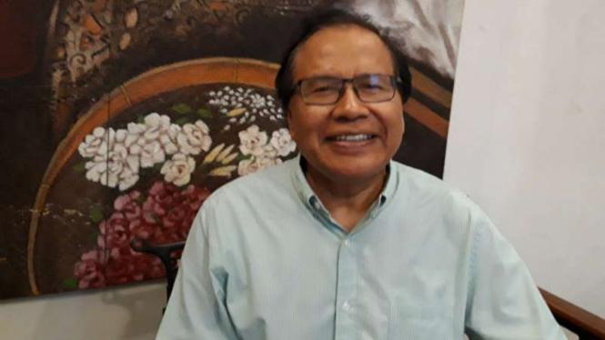 Mantan Menteri Koordinator Bidang Kemaritiman, Rizal Ramli