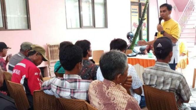 Caleg Partai Golkar Dapil Jawa Tengah VIII nomor urut 3, Wirendra Tjakrawerdaja.
