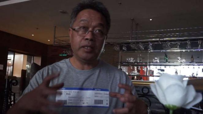 Direktur Utama AirNav Indonesia, Novie Rianto Rahardjo.