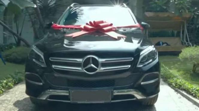 Mobil Mercedes-Benz GLE 250d yang dibeli Raffi Ahmad