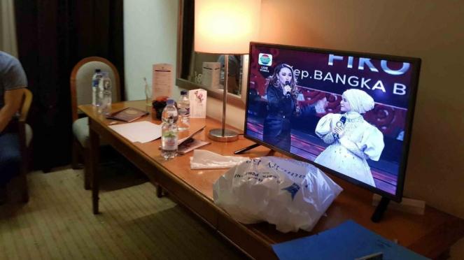 Lokasi kamar Andi Arief saat ditangkap di Hotel Menara Peninsula, Slipi, Jakarta