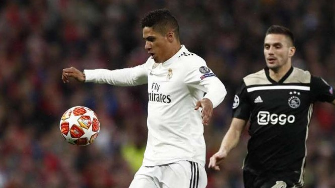 Casemiro di laga Real Madrid vs Ajax Amsterdam