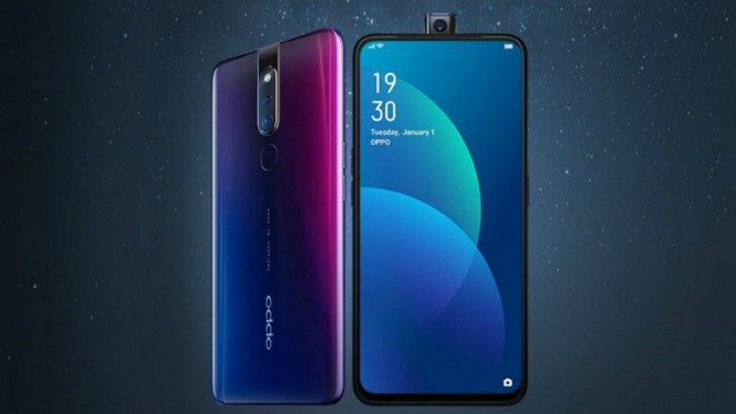 Image result for Oppo F11 layar