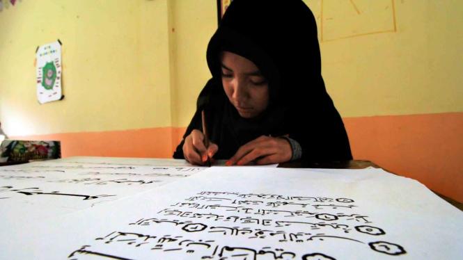 Ilustrasi murid Madrasah Aliyah Negeri (MAN).