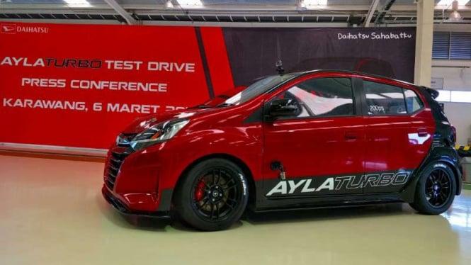 100+ Foto Modifikasi Mobil Daihatsu Ayla HD