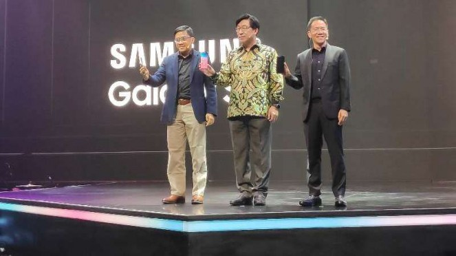 Peluncuran Samsung Galaxy S10, S10 Plus dan S10e.