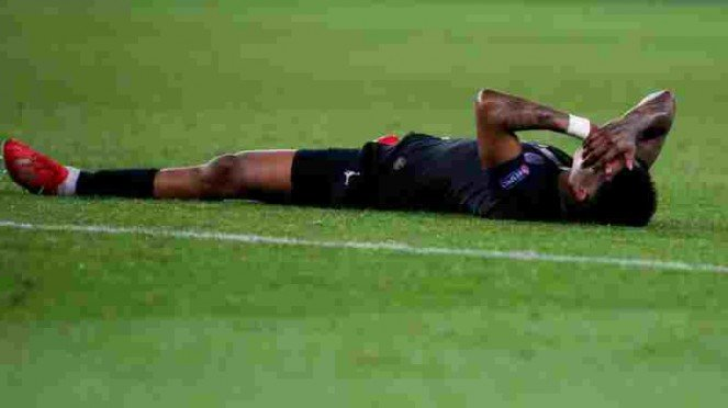Bek PSG, Presnel Kimpembe usai dikalahkan MU.