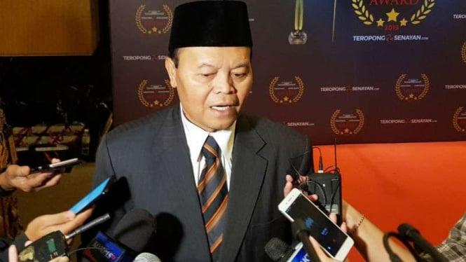 Hidayat Nur Wahid di Senayan, Jakarta