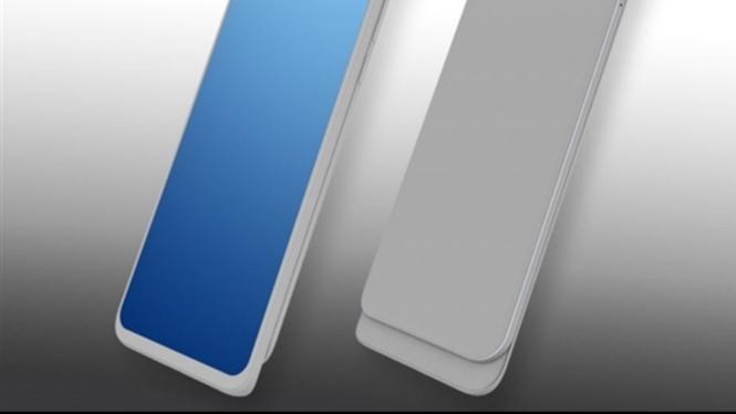 Huawei sliding phone.