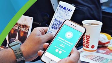 Uang digital Gopay.