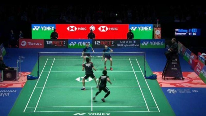 Ahsan/Hendra vs Aaron/Soh di final All England Open 2019