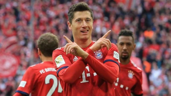 Penyerang Bayern Munich, Robert Lewandowski