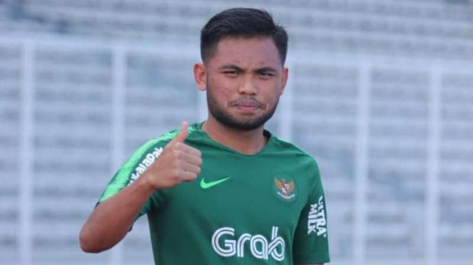 Winger Timnas Indonesia U-23, Saddil Ramdani