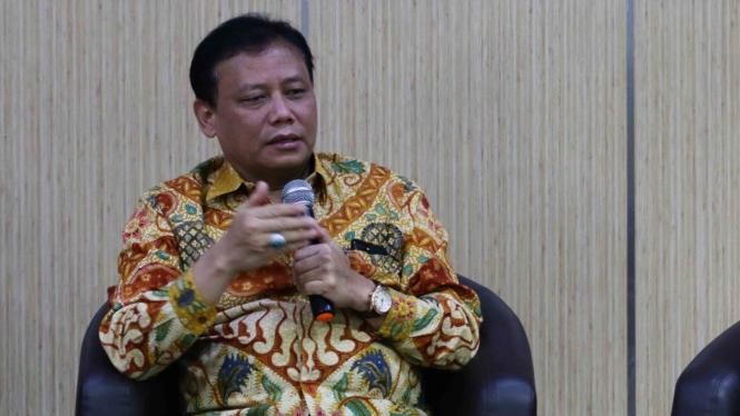 Ketua Badan Pengawas Pemilu (Bawaslu), Abhan Misbah