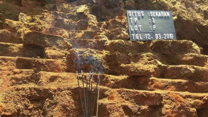 Situs Sekaran Kerajaan Majapahit di Proyek Tol Malang-Pandaan