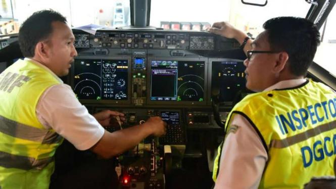 Kemenhub inspeksi Boeing 737 Max 8.