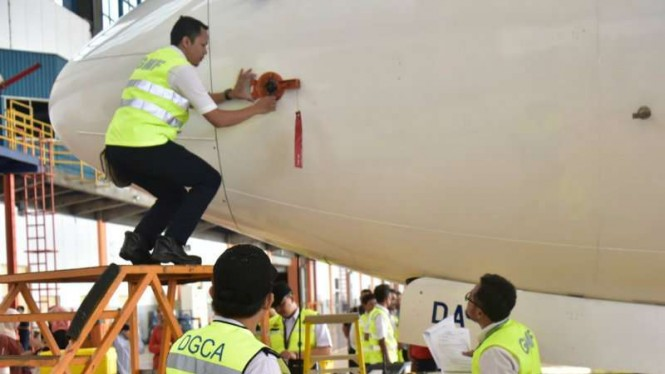 Kemenhub inspeksi Boeing 737 Max 8. (ilustrasi)