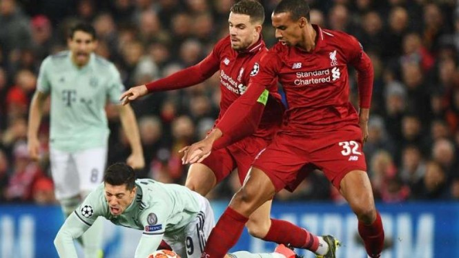 Duel Liverpool kontra Bayern Munich di babak 16 besar Liga Champions