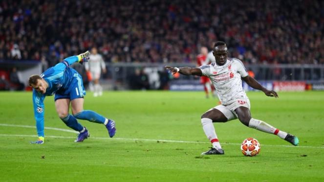 Pertandingan Bayern Munich vs Liverpool