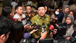 Wakil Ketua DPR RI Koordinator Bidang Kesejahteraan Rakyat Fahri Hamzah.