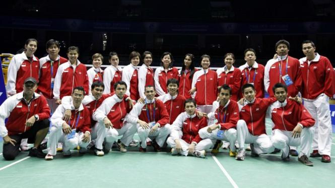 Tim bulutangkis Indonesia pada ajang Piala Sudirman 2011