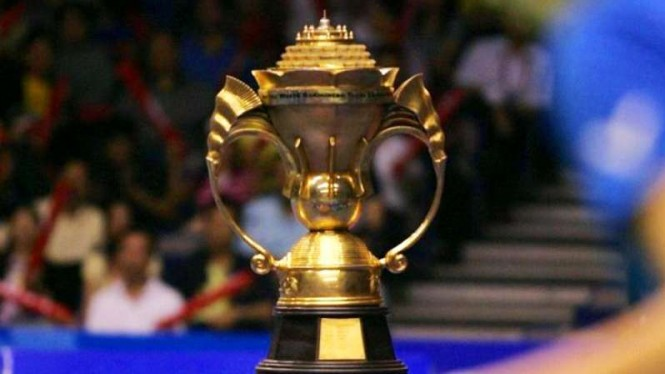 Trofi Piala Sudirman.