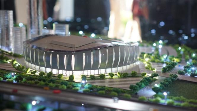 Desain Stadion BMW, Jakarta