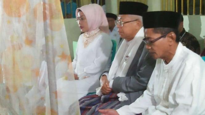 Calon Wakil Presiden Nomor Urut 01, Ma'ruf Amin jiarah ke Sultan Ageng Tirtayasa