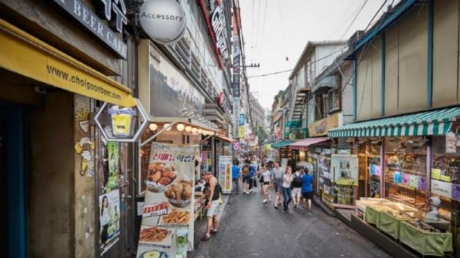 Hongdae, Korea Selatan
