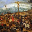 Lukisan The Crucifixion karya Pieter Bruegel the Younger yang disimpan di satu museum di Budapest. - Getty Images