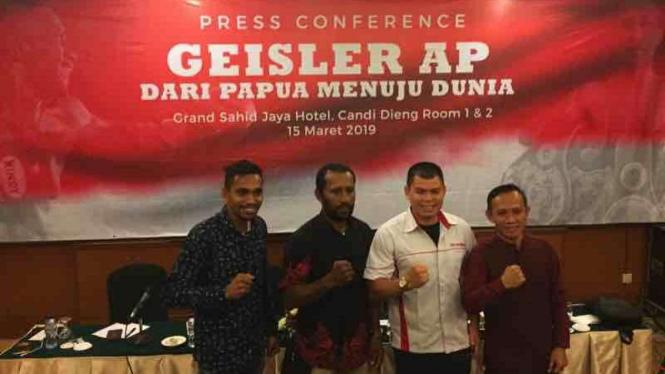 Petinju Indonesia berusia 35 tahun, Geisler AP
