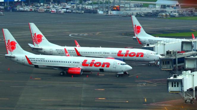 Armada pesawat Lion Air