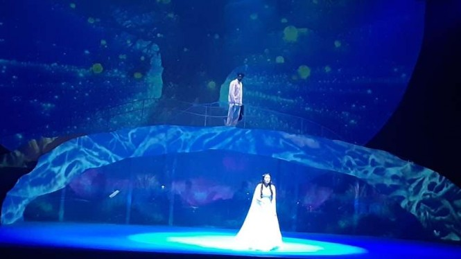 Teater Cinta Tak Pernah Sederhana