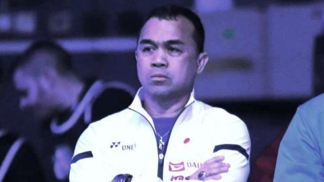 Kepala Pelatih Tunggal Putri Pelatnas PBSI, Rionny Mainaky
