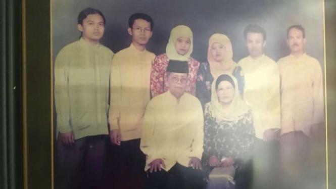 Zulfirman Syah (paling kiri), WNI jadi korban penembakan di Selandia Baru