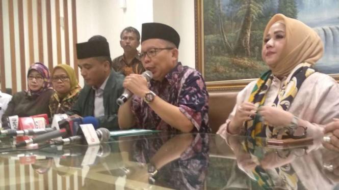 Sekjen PPP, Arsul Sani dan pengurus DPP.