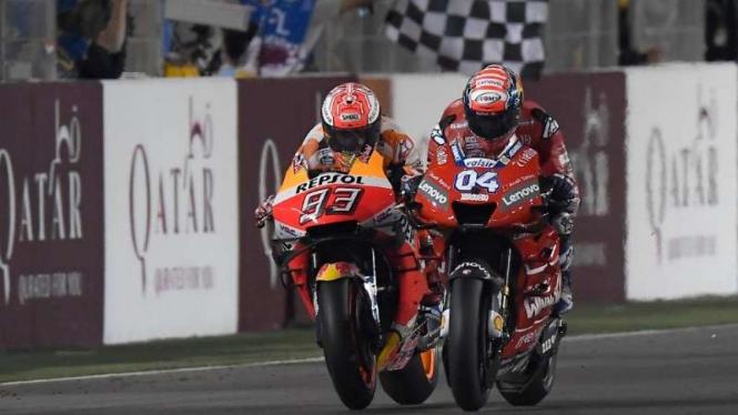 Marc Marquez vs Andrea Dovizioso