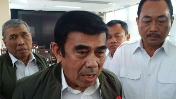 Menteri Agama Jenderal TNI (Purn) Fachrul Razi.