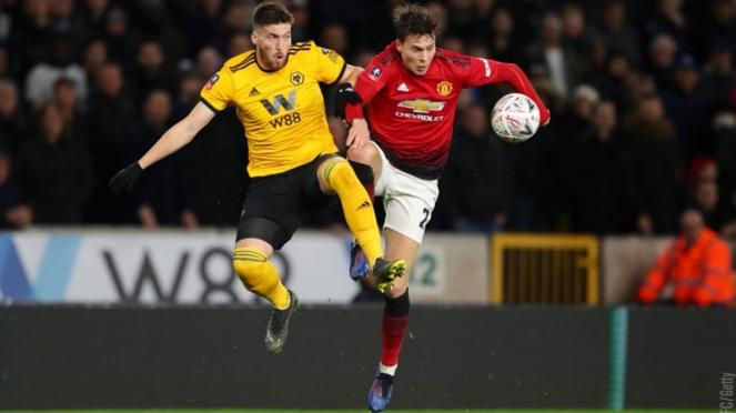 Pertandingan Wolverhampton Wanderers vs Manchester United