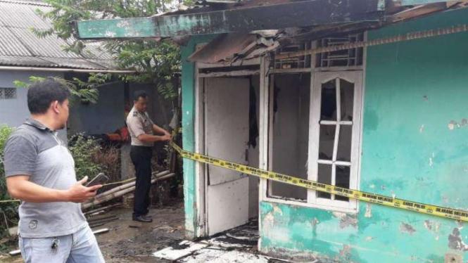 Tiga Rumah Kontrakan di Depok Ludes Terbakar