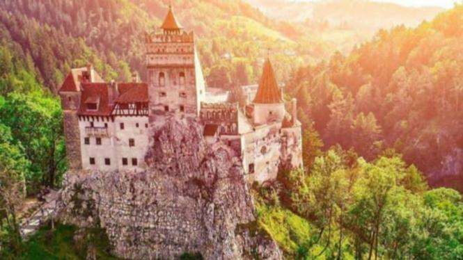 Kastil Bran di Romania