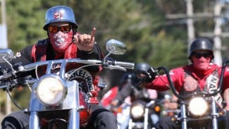 Geng motor Mongrel Mob.