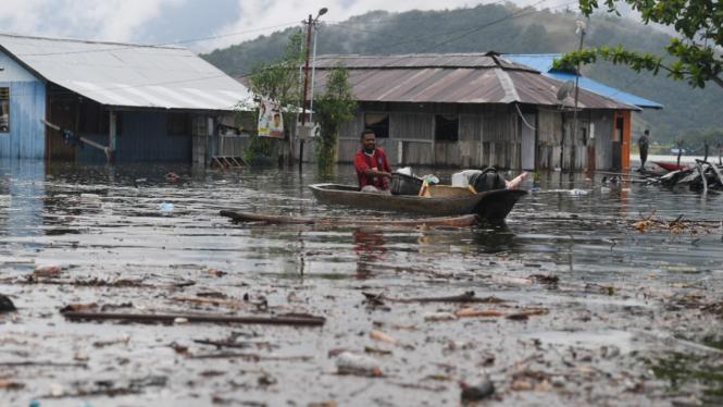 Dampak Banjir Sentani