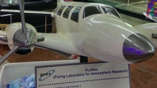 Konsep pesawat FLARes