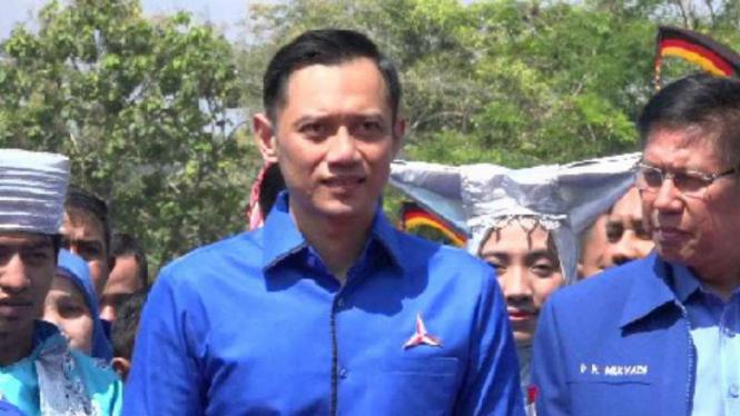 Komandan Kogasma Demokrat Agus Harimurti Yudhoyono