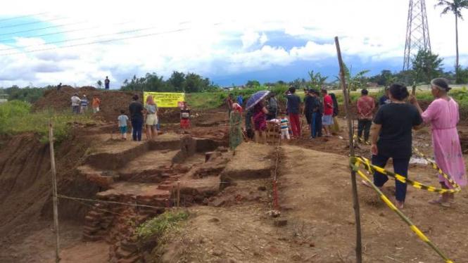 Situs Sekaran, bangunan yang diyakini berdiri pada era pra-Majapahit.