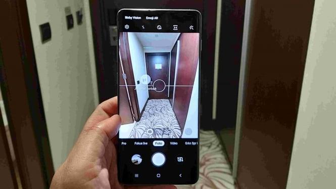 Kamera Samsung Galaxy S10