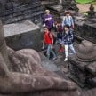 Super Junior di Candi Borobudur