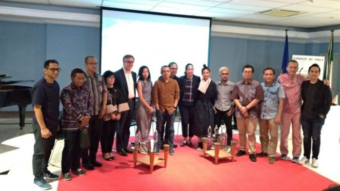 Konferensi pers Indonesian Contemporary Art & Design (ICAD)